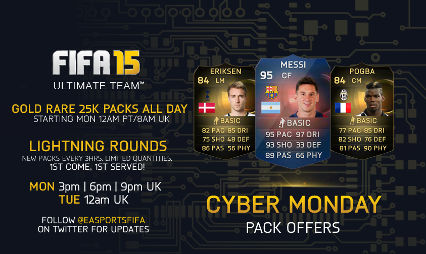 Happy Hour Pack Offers For  FUT 15