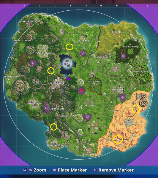 Where to Find Fortnite Radar Signs and Record A Speed Of 27